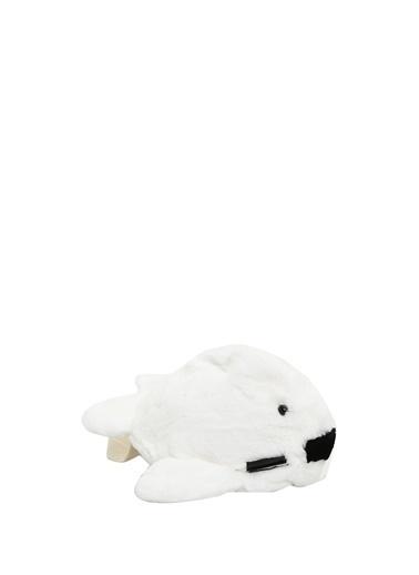 Yves Salomon Yves Salomon  Tavşan Formlu Unisex Çocuk Çanta 101590840 Beyaz